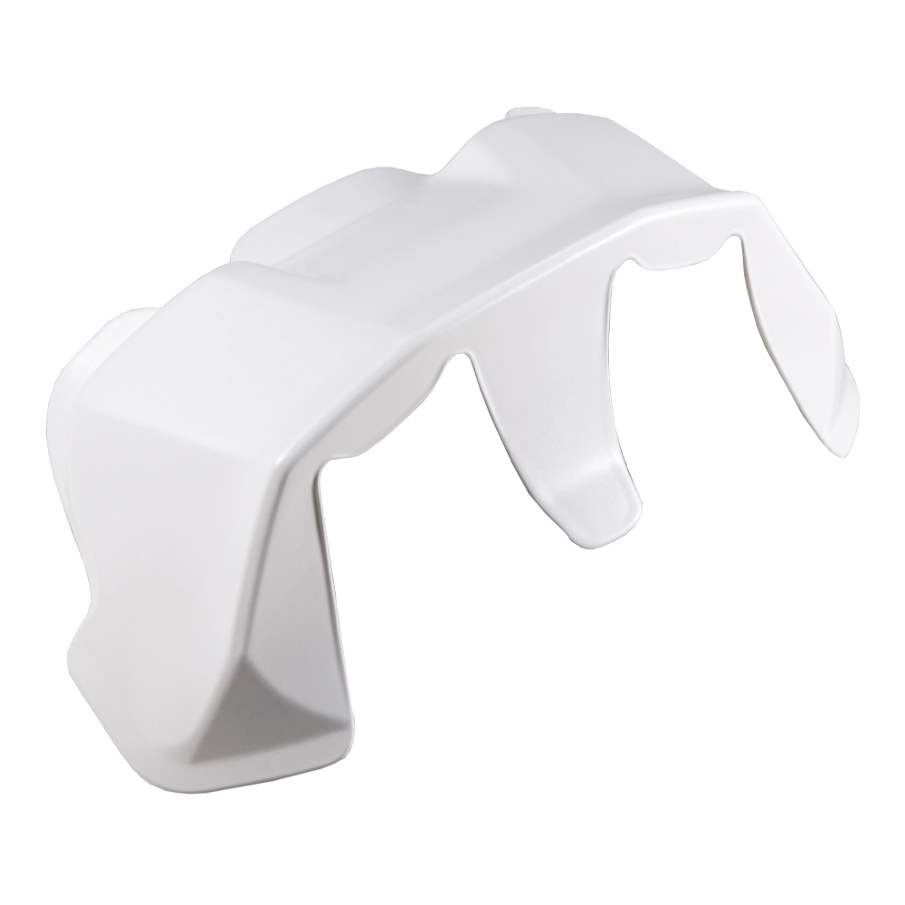 Arai RX-7V Racing FIM EX2 Diffuser Spoiler - Diamond White