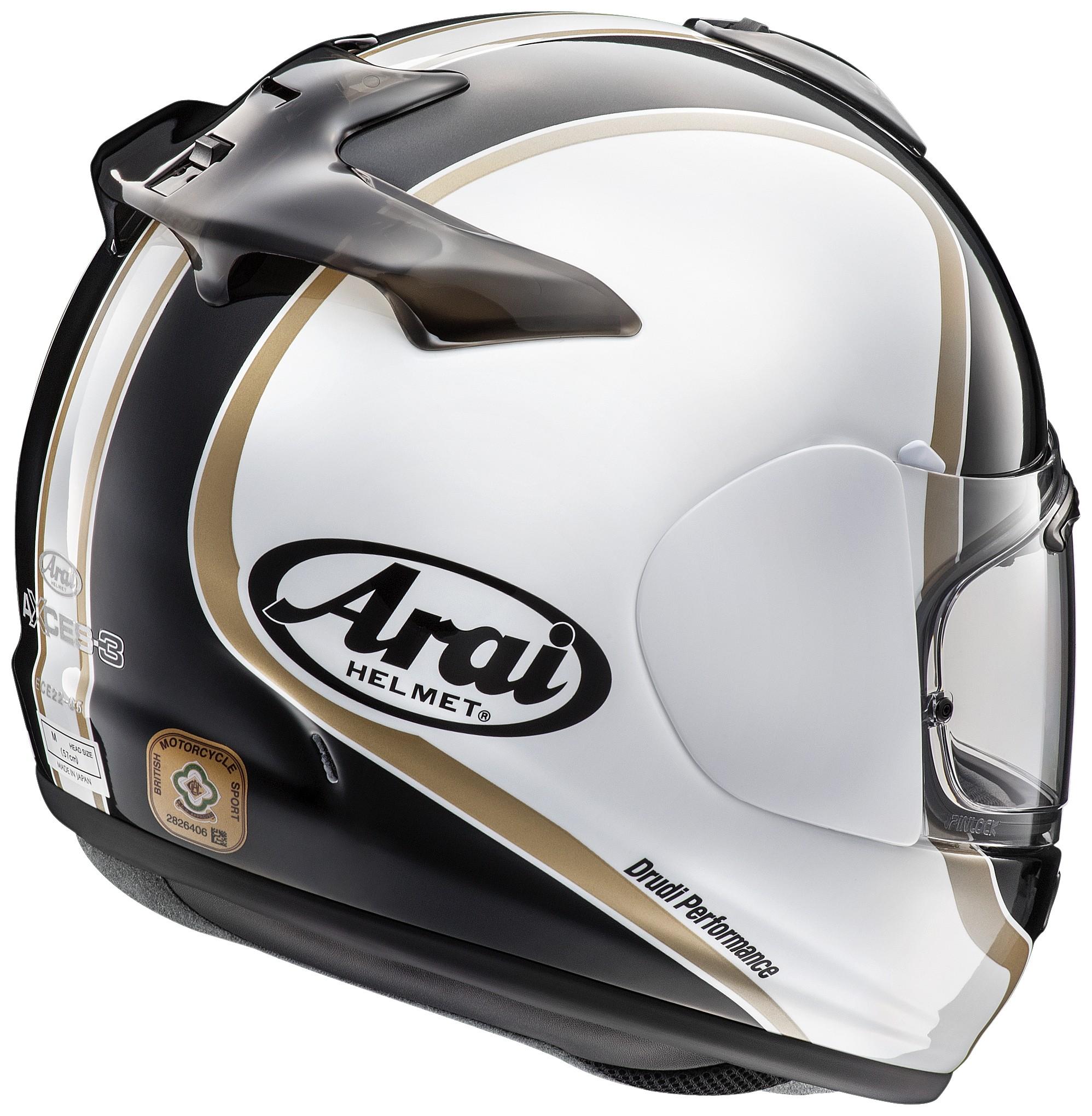 ARAI AXCES III DUAL BLACK Motorcycle