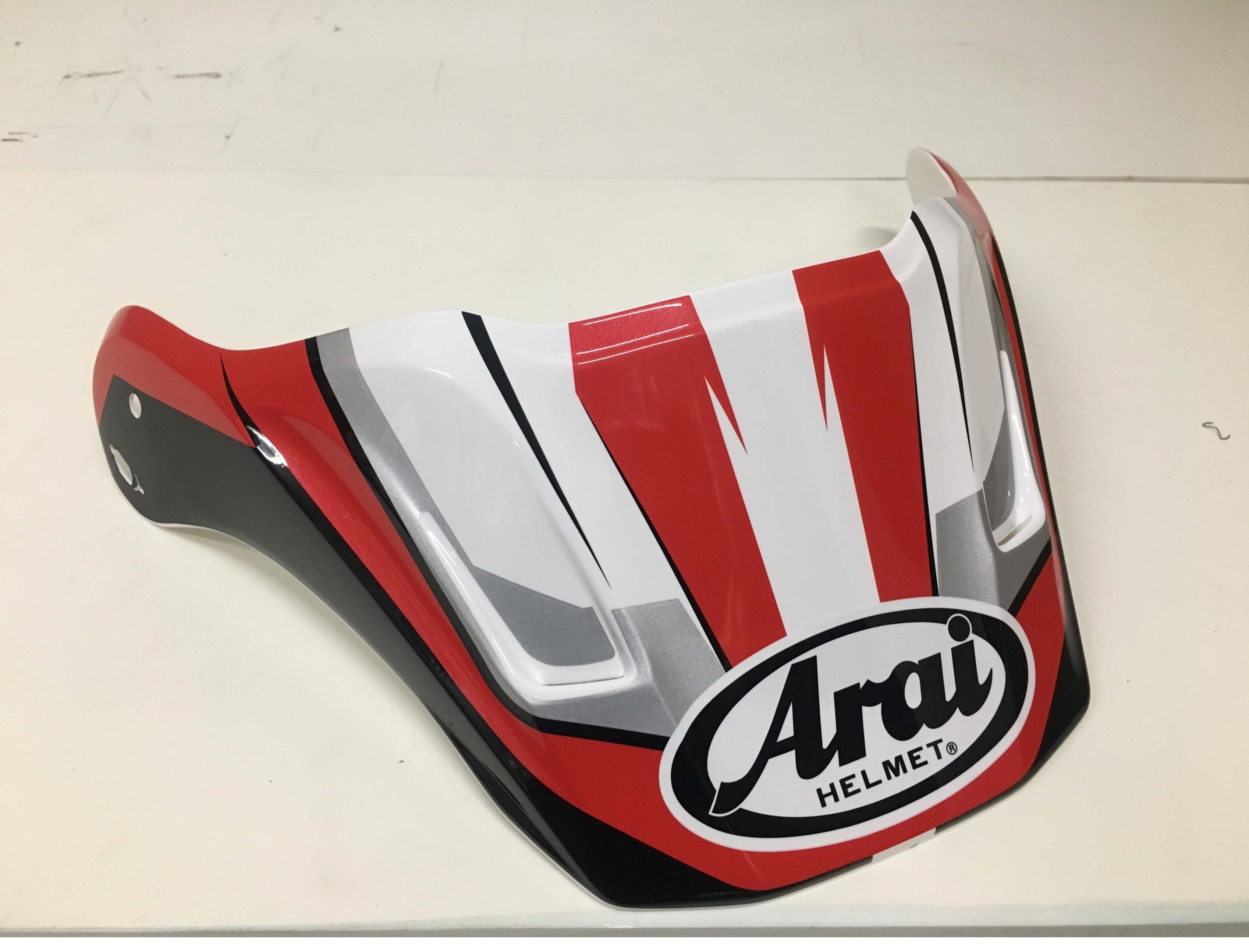 Arai Peak Tx-4 Flare Red