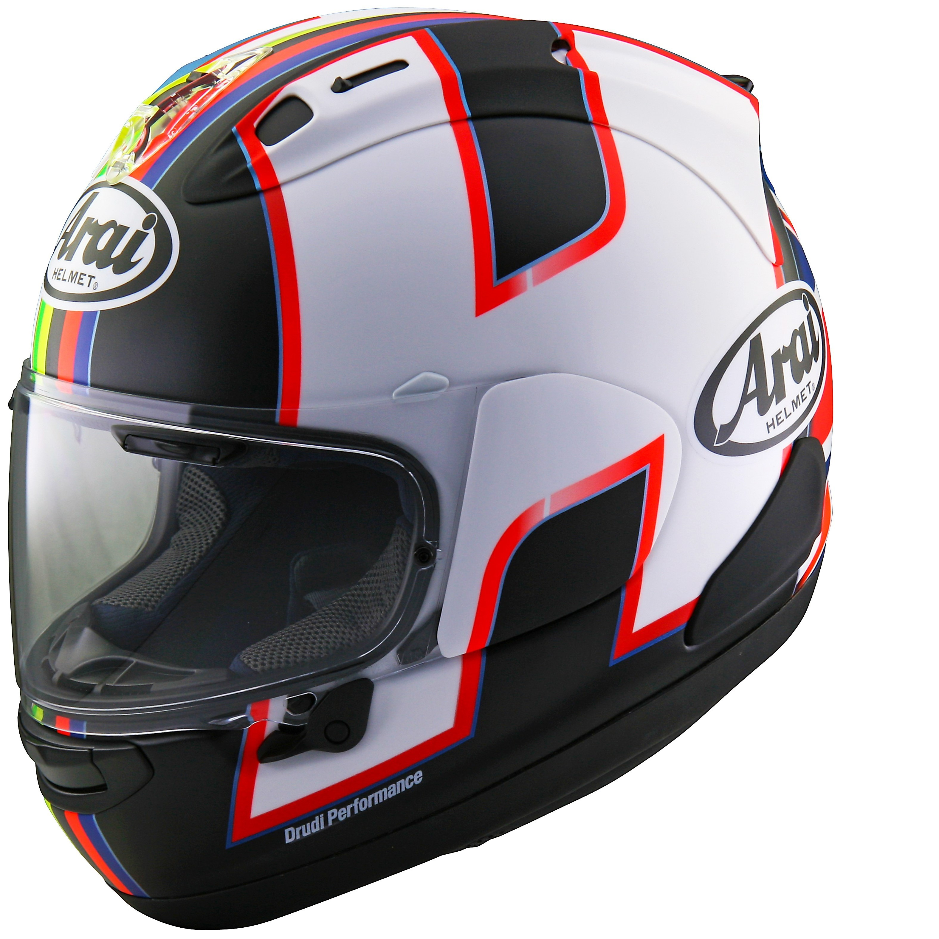 arai rx 7v haslam black replica helmet. Black Bedroom Furniture Sets. Home Design Ideas