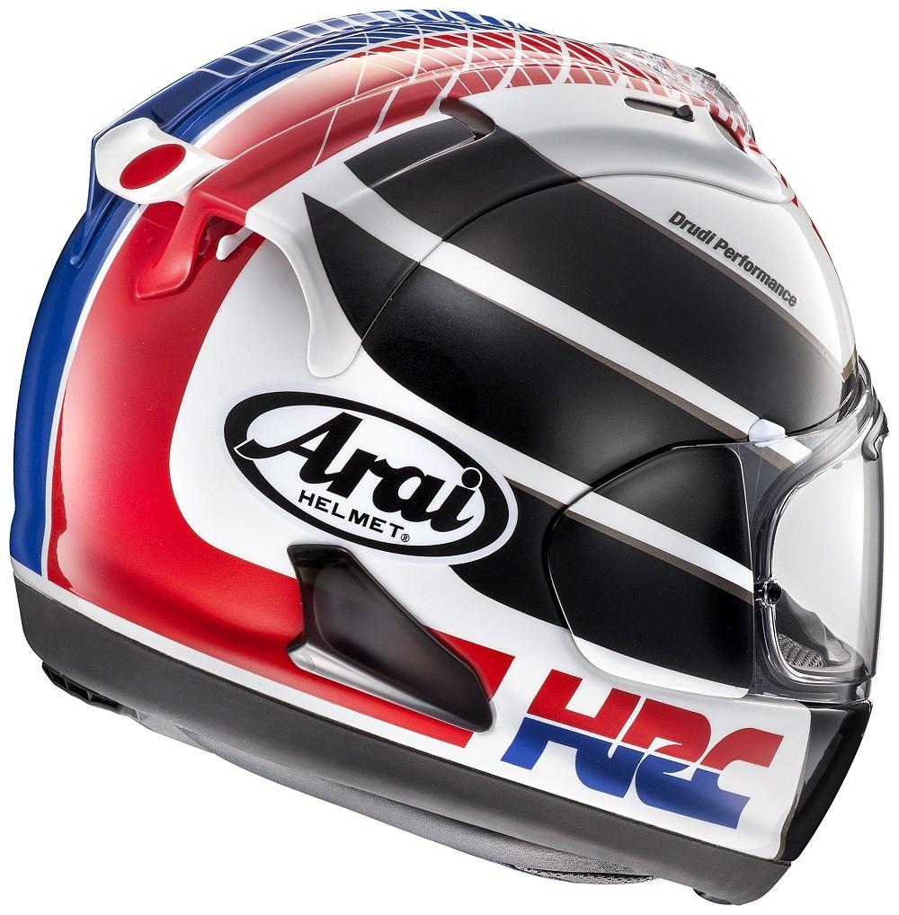 Arai Rx 7v Hrc Full Face Limited Edition Helmet
