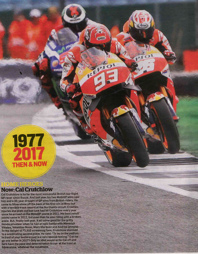 MCN'S Moto GP Preview – Home Heroes