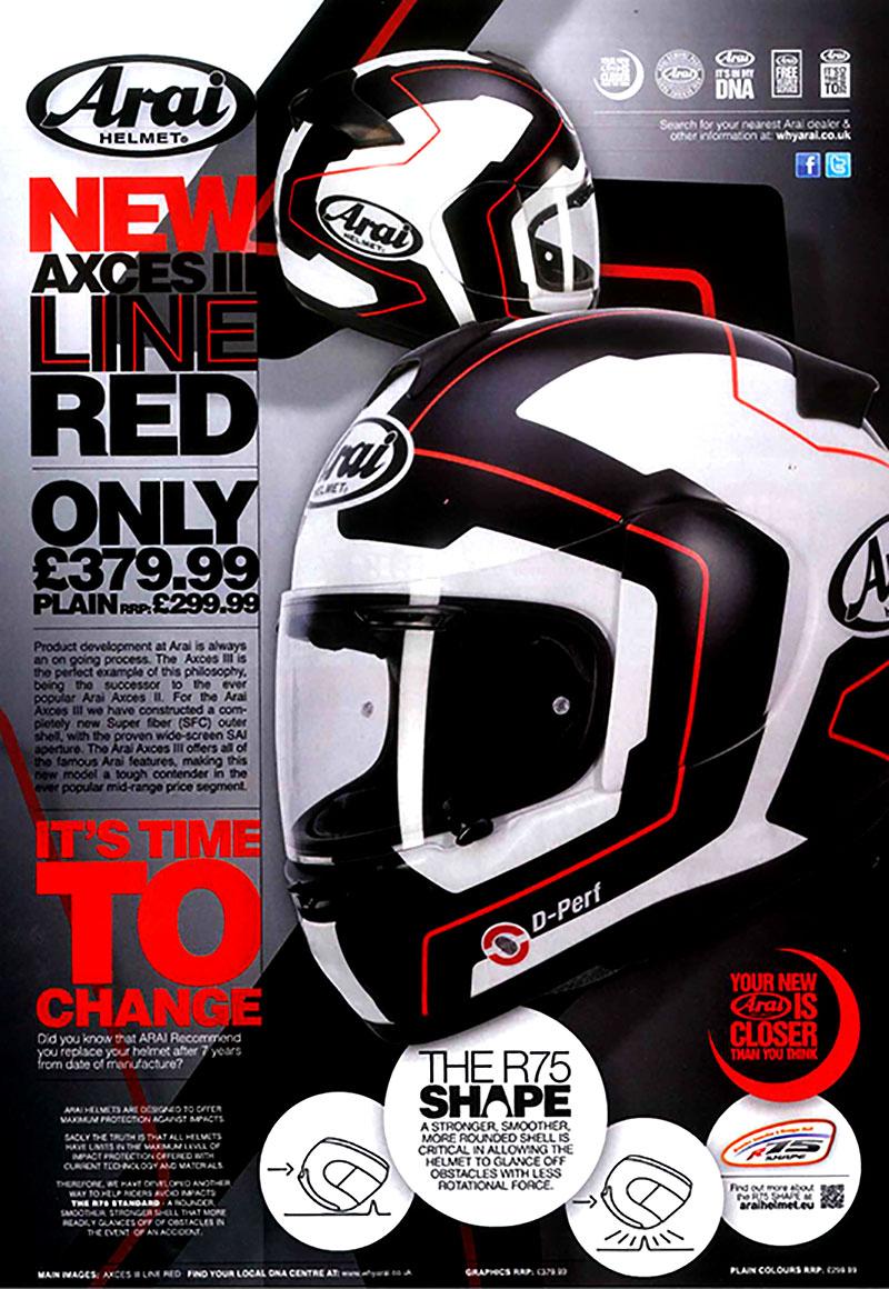 The NEW Axces III Helmet