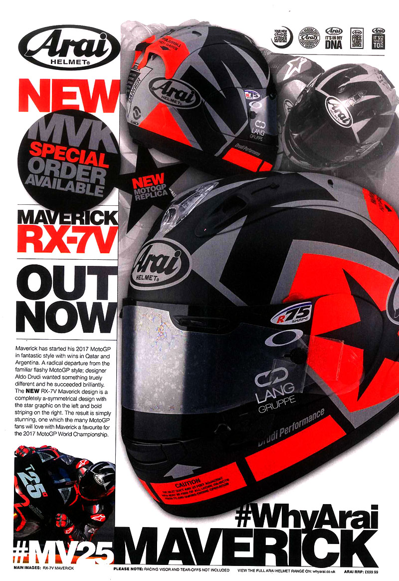 The NEW Moto GP replica featured in Performance Bikes