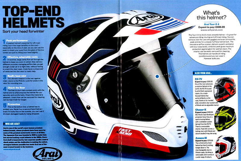 Ride Winter Gear Guide Review the Top End Helmets