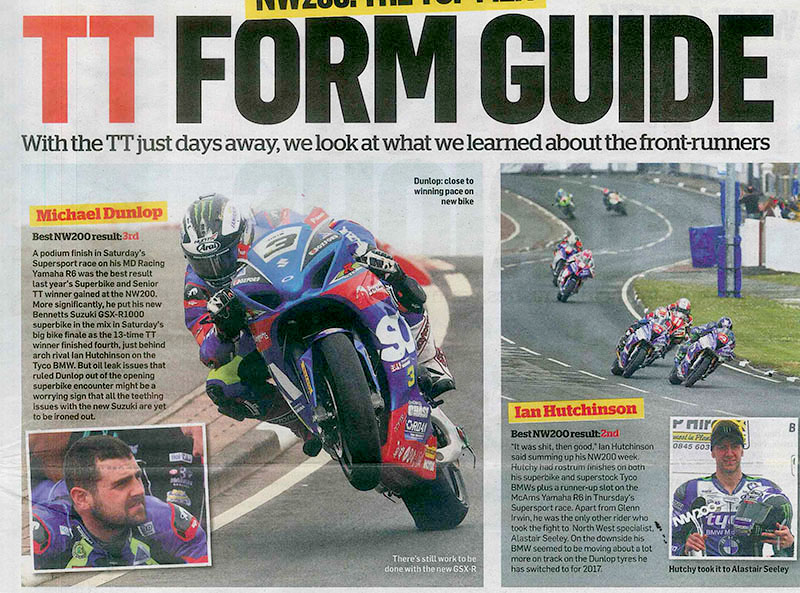 TT Form Guide in MCN