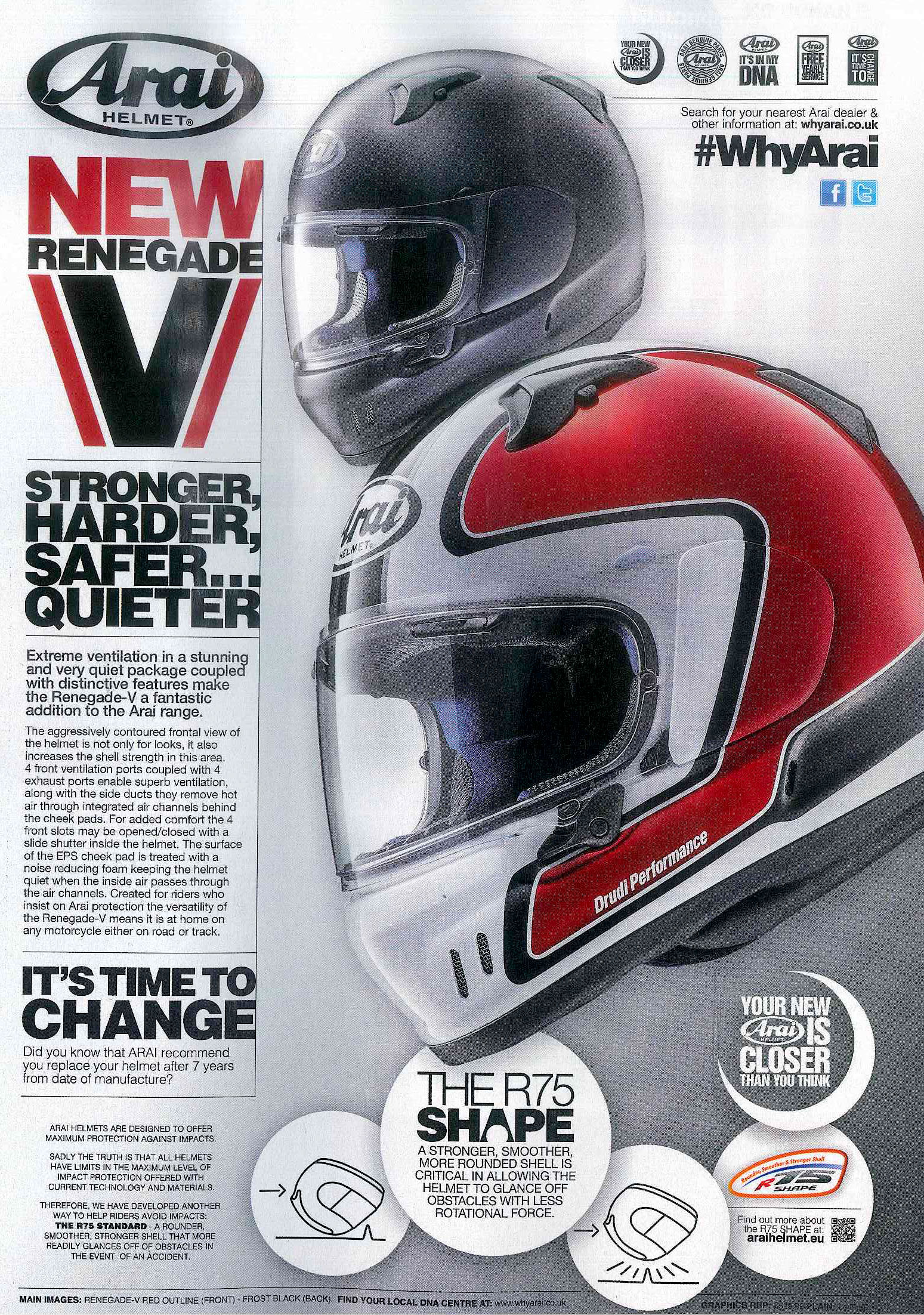 The new Renegade V ad