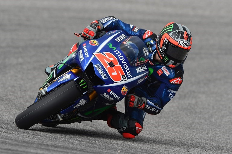 Assertive Start for Movistar Yamaha in Austin