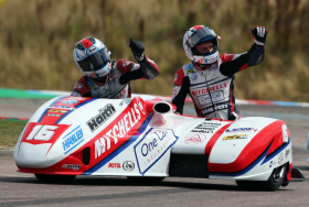 BIRCHALL RACING CLAIM RACE ONE WIN AT THRUXTON