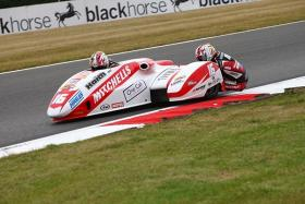 Birchalls clear up in the 600 sidecar cup