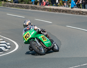 Mechanical problem forces Maria Costello out of possible Classic TT podium