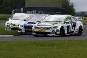 Tough weekend but more points for Hill at Croft BTCC