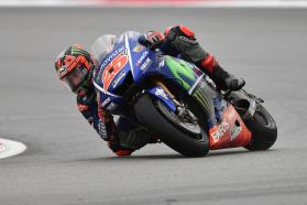 Determined Movistar Yamaha Finish Seventh and Ninth in Drenched Sepang