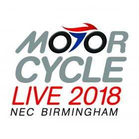 Find us at Motorcycle Live 2018!