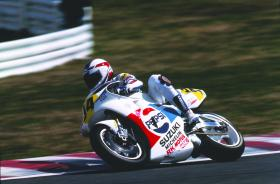Kevin Schwantz' RGV500 to be restored at Motorcycle Live