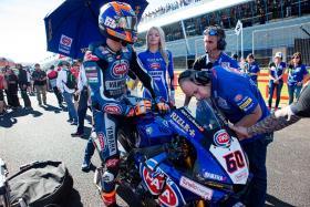 Pata Yamaha Battle Hard for the Podium in Jerez Race 1
