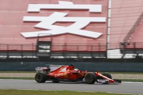 Vettel second in China, Verstappen shows his class.