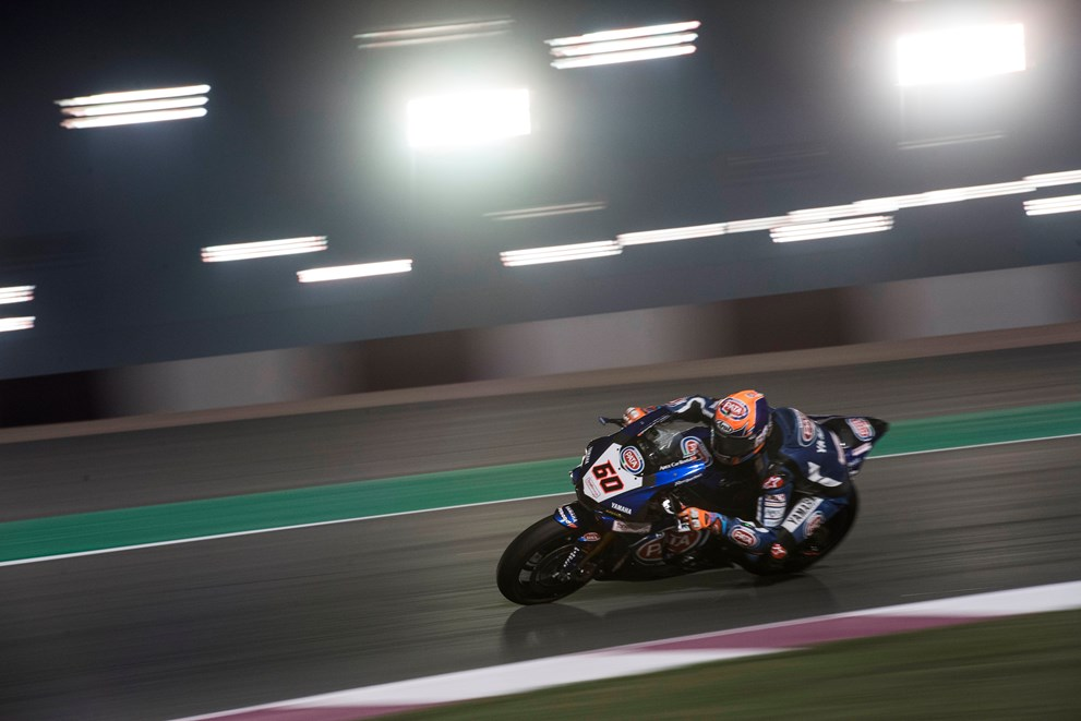 Pata Yamaha Get Off to a Superb Start Under the Lights in Qatar
