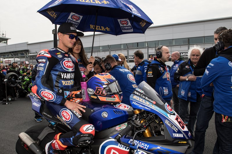 Van der Mark and Yamaha Make History in WorldSBK Race 1 at Donington Park