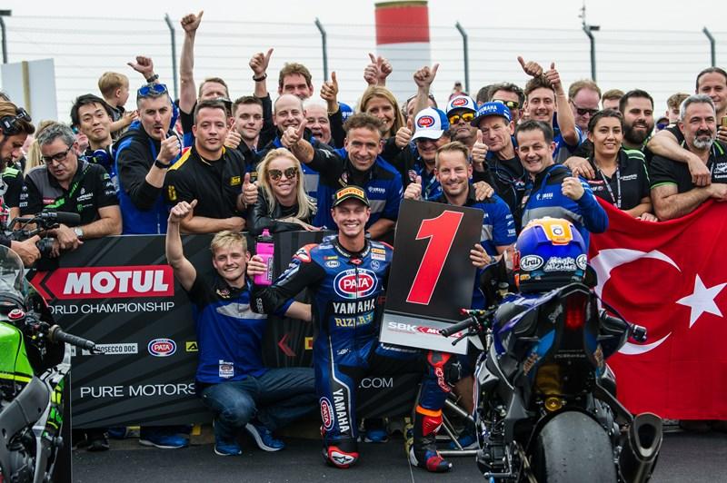 Van Der Mark Storms to Sensational Yamaha Donington Double