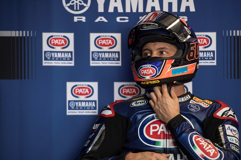 Pata Yamaha Progress in Tricky Conditions on Friday at Phillip Island