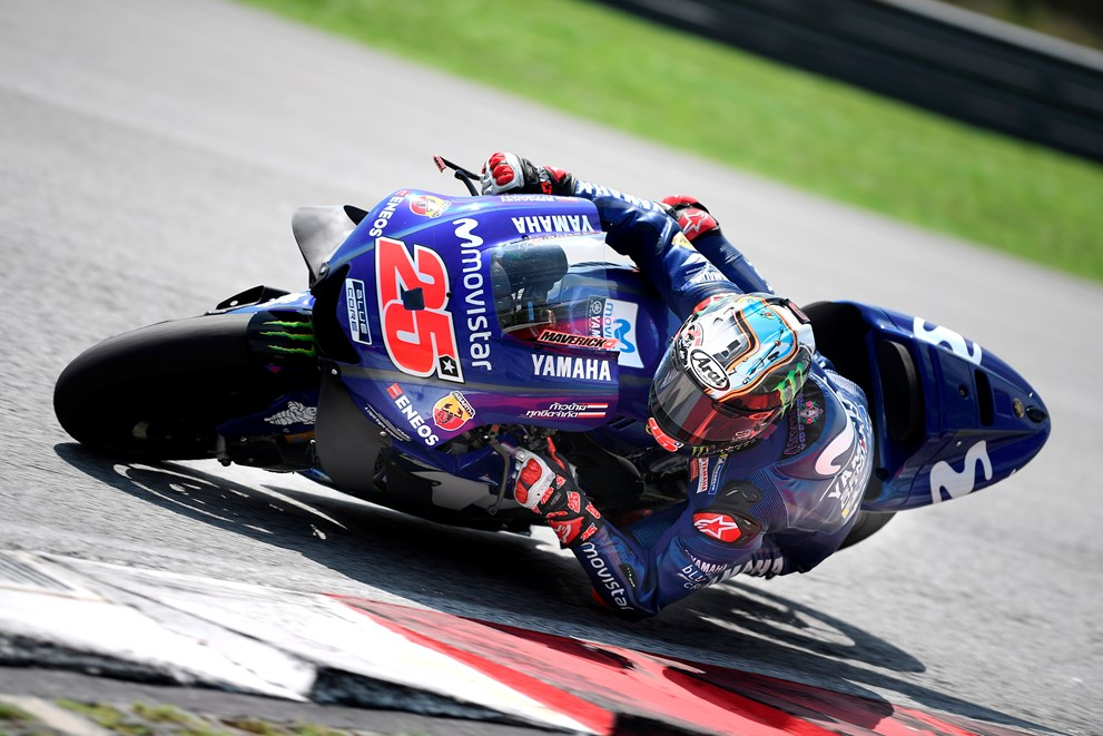 Movistar Yamaha Complete Sepang Test Schedule