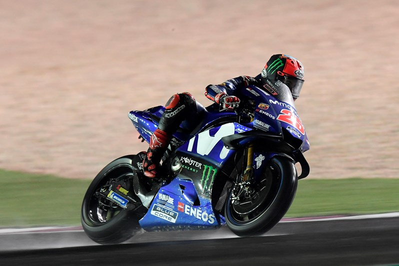 Testing Continues for Movistar Yamaha MotoGP in Qatar